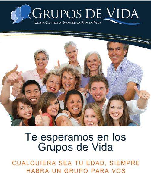 Grupos de Vida - Te esperamos